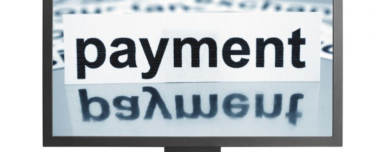 Payment on monitor