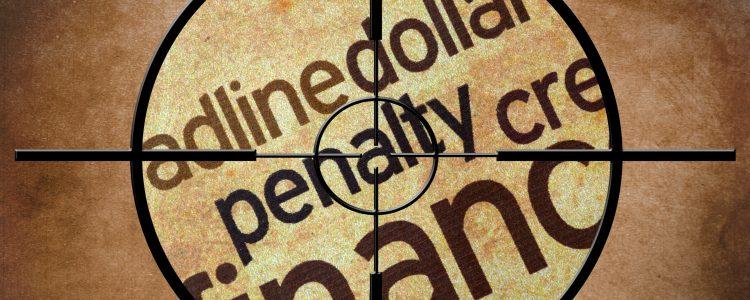 FInancial penalty concept